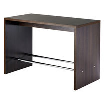 Contemporary high bar table / plastic / HPL / rectangular