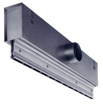 Ceiling air diffuser / linear / slotted