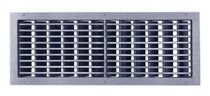 Plastic ventilation grille / rectangular / adjustable