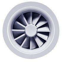 Ceiling air diffuser / round