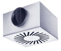 Ceiling air diffuser / square