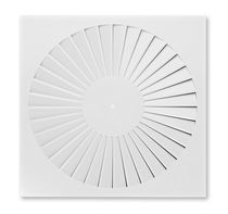 Ceiling air diffuser / round / square