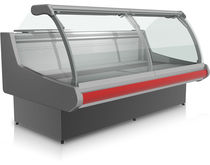 Counter refrigerated display case / for pastry shops / for bakeries / for shops