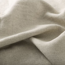 Upholstery fabric / plain / linen / contract