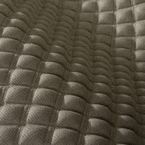 Upholstery fabric / geometric pattern / polyester / linen