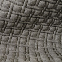 Upholstery fabric / geometric pattern / polyester / wool