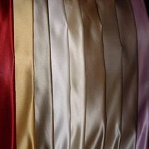 Upholstery fabric / plain / silk