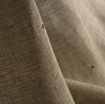 Upholstery fabric / plain / linen