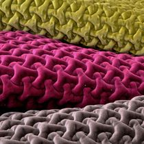 Upholstery fabric / patterned / velvet