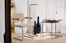 Floor-standing lamp / contemporary / steel / LED