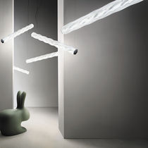 Pendant lamp / contemporary / Lentiflex® / LED
