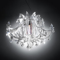 Original design chandelier / Lentiflex® / incandescent