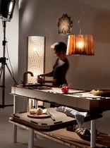 Pendant lamp / minimalist design / Cristalflex®