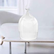 Custom lamp / table / original design / glass