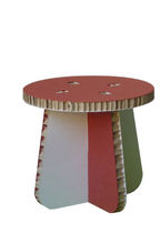 Contemporary stool / cardboard / child's