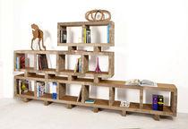 Modular shelf / contemporary / cardboard