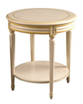 Pedestal table / Louis XVI style / in wood / residential