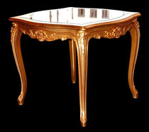 Side table / Louis XV style / glass