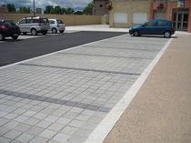 Concrete paver / drainage / drive-over / for public spaces