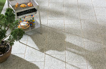 Outdoor tile / floor / high-performance concrete / polished