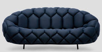 Contemporary sofa / fabric / by Ronan & Erwan Bouroullec / 2-seater