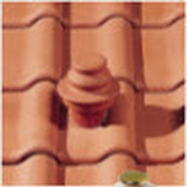 Sleeve roof tile / clay