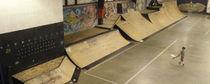 Skatepark ramp