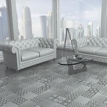 Living room tile / floor / ceramic / geometric pattern