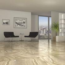 Living room tile / floor / ceramic / patterned