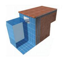 Protection edging / concrete / ceramic / corner