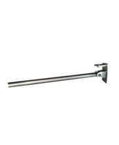 Folding grab bar / stainless steel / wall-mounted / commercial