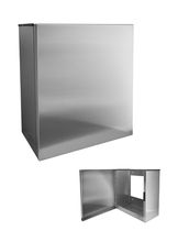 Wall-mounted soap dish / stainless steel