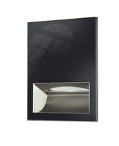 Built-in paper towel dispenser / stainless steel