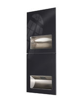 Automatic hand dryer / built-in / high-speed / with paper towel dispenser