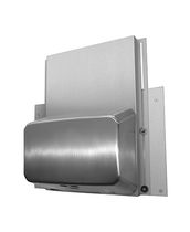 Automatic hand dryer / stainless steel / high-speed