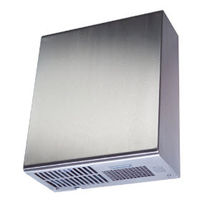 Automatic hand dryer / surface mounted / stainless steel