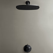 Wall-mounted shower set / contemporary / rain