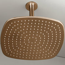 Ceiling-mounted shower head / square / rain