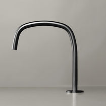Washbasin mixer tap / stainless steel / copper / bathroom