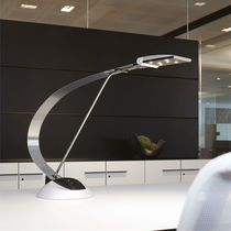 Office lamp / contemporary / stainless steel / aluminum