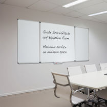 Magnetic board / wall-mounted / aluminum