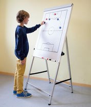 Magnetic board / self-supporting / aluminum