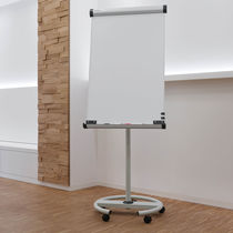 Magnetic board / self-supporting / steel / paper