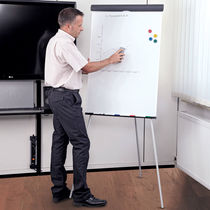 Magnetic board / self-supporting / steel