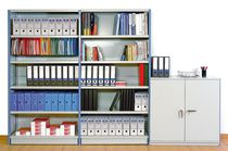 Universal shelving / archival / for offices / galvanized steel
