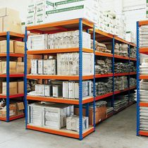 Universal shelving / light-duty / for medium-heavy loads / metal
