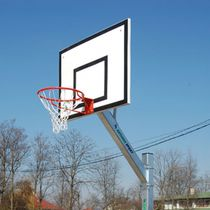 Basketball backboard / ball