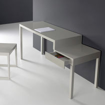 Solid wood desk / lacquered MDF / contemporary / commercial