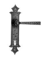 Door handle / wrought iron / rustic