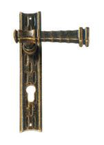 Door handle / iron / traditional